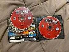 Battlefield 1942 (PC, 2002) 2 Disc Computer Video Game EA Windows CD-Rom