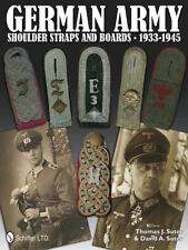 GERMAN ARMY SHOULDER STRAPS AND BOARDS 1933 - 1945