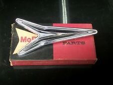 1960 Plymouth Savoy Belvedere Sedan NOS MoPar QUARTER PANEL ORNAMENT #2084564