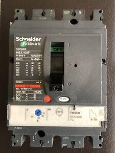 SCHNEIDER NSX100F 18/25 Amp 3 POLE 3 PHASE Merlin Gerin