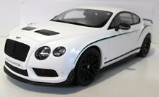 GT Spirit 1/18 Scale Resin body - GT121 Bentley Continental GT3-R White