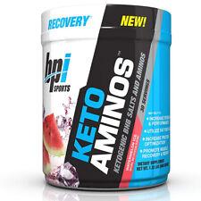 BPI Sports Keto Aminos Recovery Energy Burning Fat For Fuel (30 Srv) Watermelon