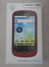 Alcatel OneTouch OT-990 3G GPS Android 5MP Mobile Phone - Black