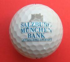 Pelota de golf con logo-Salzburg munich Bank AG-golf logotipo Ball como amuleto