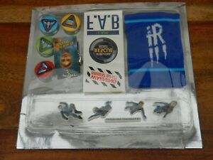 Thunderbirds Are Go Gift Pack with Sweatband Badges Stickers and Necklace