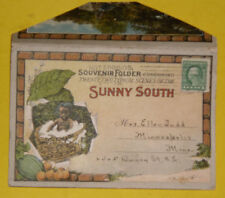 Souvenir Folder of the Sunny South 1915's Postcard Folder Great Pictures! See!