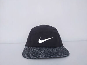 Nike 5 panel AW84 DRI-FIT Hat Cap Colors Colorful Logo Flash Tiger Pattern Brim