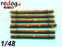 1:48 M4 Sherman tanks  logs  - Redog