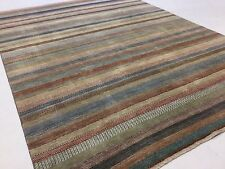 """9'.0"""" X 11'.9"""" Brown Beige Modern Persian Oriental Area Rug Hand Knotted Wool"""