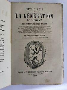 Physiologie de la génération de l'homme et des principaux êtres vivants - 1868