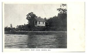 Huckleberry Point House, Bauneg Beg Lake, Maine Postcard *6S(4)8