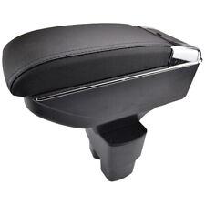Armrest For Nissan NV200 Evalia 2010-2017 Storage Box Black Cup Holder