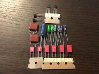 Marantz 2325 Preamp Rebuild Set PE01 Board Receiver Recap Transistor Kit WIMA