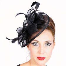 FASCINANTE Diadema Tocado Boda Elegante Sombrero adorno para cabello