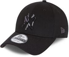 Ny Yankees Bambini New Era 940 Mimetico Inserto Nero Cappello Baseball (Età 6 -