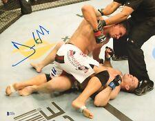 Frank Mir Signed 11x14 Photo BAS Beckett COA UFC 119 KO vs Mirko Cro Cop Picture