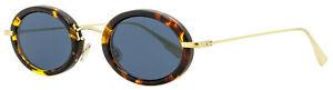 Dior Oval Sunglasses DiorHypnotic2 2IKA9 Gold/Havana 46mm