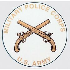 Us Army Military Police Mp Corps Sticker - Made In The Usa!