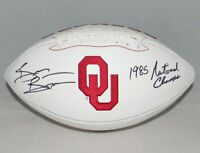 BRIAN BOSWORTH AUTOGRAPHED SIGNED OKLAHOMA SOONERS FOOTBALL JSA W/ 1985 CHAMPS