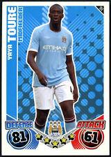 Yaya Toure #194 Manchester City Topps Match Attax 2010-11 Football Card (C602)