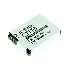 batteria per Samsung WB150F WB200F WB250F WB500 WB550 WB700 WB750 WB80