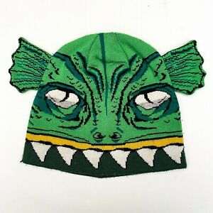 Volcom Creature From The Black Lagoon Beanie Hat Kids Youth Green 2014