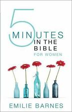Five Minutes in the Bible for Women by Emilie Barnes (2015, Paperback)