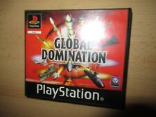 Playstation 1 PS1 Global Domination Blockbuster Rental pal version