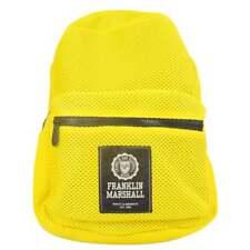 Franklin & Marshall UA968 polyester jaune soleil Sac