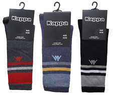 3 Paia Calzini, calza corta Uomo. KAPPA - K699. MADE IN ITALY.
