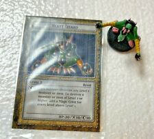 Yu-Gi-Oh - Blast Lizard Dungeon Dice Monsters DDM Mini Figure  and card sleeved