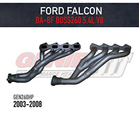 GENIE Headers / Extractors to suit Ford Falcon BA-BF V8 BOSS260 (2003-2008) 5.4L