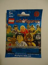 1 LEGO Minifigures Series 2 Blind Bag 8684 *Free Shipping**No Tax*