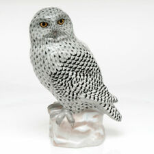 Herend Snowy Owl Reserve Collection Figurine New
