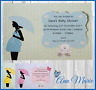 10 x PERSONALISED BABY SHOWER INVITATIONS BOY GIRL BABY SHOWER INVITE CARDS