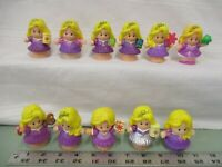 Fisher Price Little People Princess Rapunzel Disney Palace Songs Pick one Part