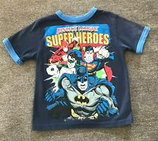 Boys T- shirt size 4  Super heroes Batman, Superman  Justice League