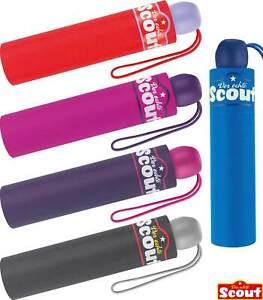 Scout Regenschirm Kinderschirm Taschenschirm Reflex reflektierend Schulmappe