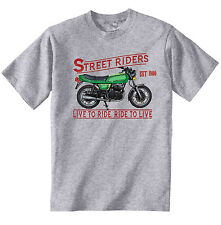 DUCATI 350 GTV 1980 - NEW COTTON GREY TSHIRT - ALL SIZES IN STOCK