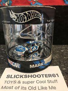 HOT WHEELS Nascar Mark Martin Limited Edition To 15,000 WHITE Car Viagra #6