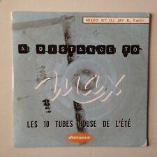 CD PROMO A DISTANCE TO MAX LES 10 TUBES HOUSE DE L'ETE - MIXED BY JEF K