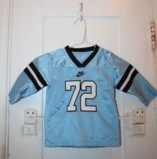 NIKE Long Sleeve Sewn Jersey #72 Light Blue 18 Months Vintage Retro Football