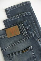 RRP €109  NUDIE GRIM TIM INDIGO RING Men's W29/L32 Stretch Organic Jeans 5174_mm