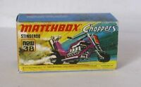 Repro Box Matchbox Superfast Nr.38 Stingero Choppers