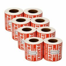 4000 Fragile Stickers 2 X 3 Handle With Care Thank You Warning Labels 8 Rolls