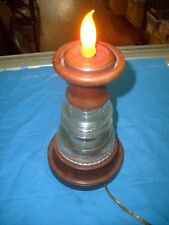 Vintage Glass Insulator Hemingway - 42 * Great One of a Kind Lamp
