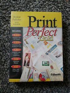 Print Perfect Gold - PC Computer Program Cd ROM