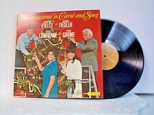 "LEONTYNE PRICE / ARTHUR FIEDER ""CHRISTMASTIME IN CAROL AND SONG"" LP"