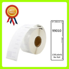 1 Rolls 99010 Labels Compatible for Dymo/Seiko 28 x 89mm 130 labels per roll