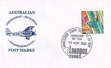 Permanent Commerative Pictorial Postmark - Launpex 19 Nov 2000 - 45c